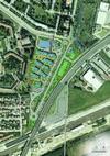 L'ambito di intervento dell'operazione promossa dalla società Bor.set.to, tra il quartiere Falchera e l'autostrada Torino-Milano. © Al Engineering