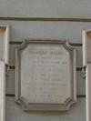 Lapide dedicata a Cesare Balbo. Fotografia di Elena Francisetti, 2010. © MuseoTorino