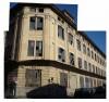 L'edificio ex Paracchi ancora in attesa di trasformazione, all'angolo tra via Pianezza e via Pessinetto. Fotografia Comitato Parco Dora, 2007.