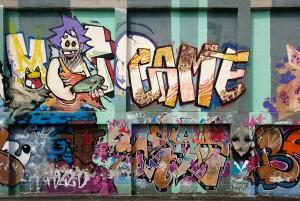 MKE, dettaglio del murale senza titolo, 2011, via Chambéry. Fotografia di Roberto Cortese, 2017 © Archivio Storico della Città di Torino