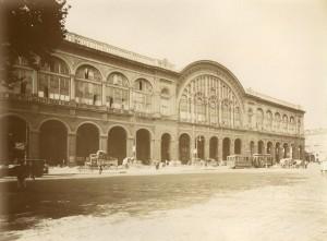 Stazione di Porta Nuova. Fotografia di Mario Gabinio, 8 settembre 1925. © Fondazione Torino Musei - Archivio fotografico