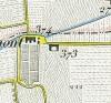 Cascina Cavaliera. Topografia della Città e Territorio di Torino, 1840. © Archivio Storico della Città di Torino