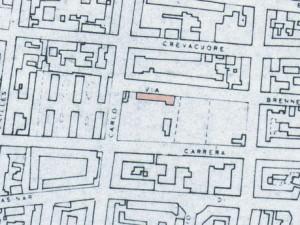 Cascina Borello. Istituto Geografico Militare, Pianta di Torino, 1974, © Archivio Storico della Città di Torino