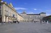 Palazzo Reale e porticato di piazza Castello. Fotografia di Bruna Biamino, 2010. © MuseoTorino