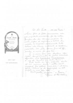 Cepollini Marchesa di F.lli Sestini, Argenti e preziosi, documento, 130° anniversario della Ditta.