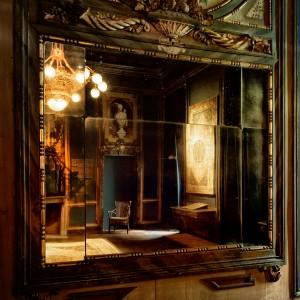 Palazzo Provana di Collegno, piano nobile, particolare, sala dell'elisir del ritorno. Fotografia di Brigitte Schindler, 2020