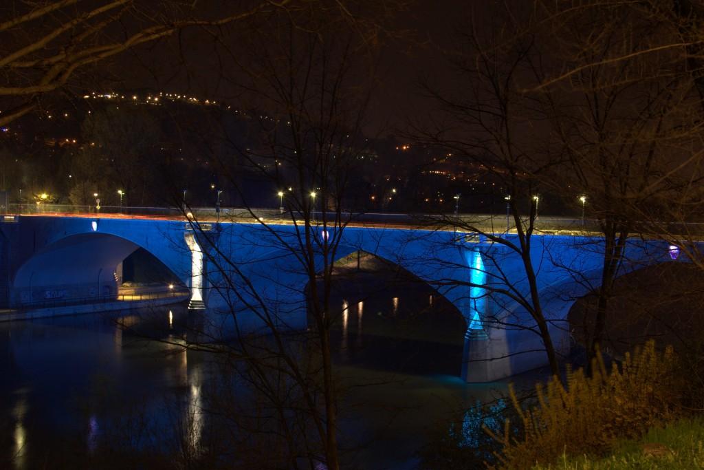 Illuminazione del ponte balbis museotorino