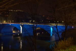 Illuminazione del Ponte Balbis