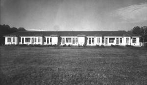 Il padiglione Casassa, aggiunto all'Ospedale nel 1934. Archivio Storico Relazioni Esterne ASL TO1.