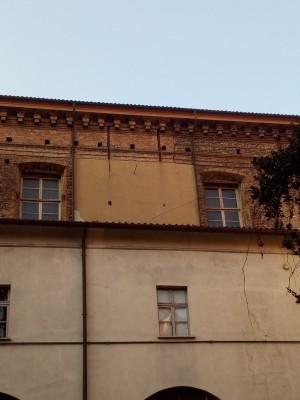 Orologio solare, Chiesa San Francesco da Paola, Convento. Fotografia del 2020