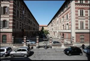 Veduta di uno dei caseggiati del 9° quartiere STAP. Fotografia di Michele D'Ottavio, 2011. © MuseoTorino