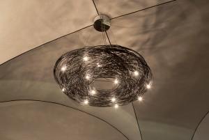 Musy Torino, particolare del lampadario, 2017 © Archivio Storico della Città di Torino
