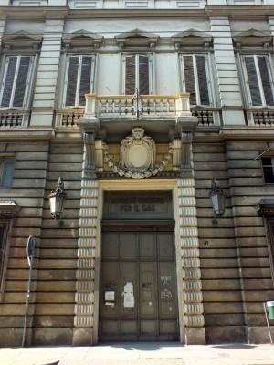 Via XX settembre 41, portale d'ingresso. Fotografia di Paola Boccalatte, 2014. © MuseoTorino
