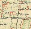 Cascina Borello. Istituto Geografico Militare, Pianta di Torino e dintorni, 1911. © Archivio Storico della Città di Torino