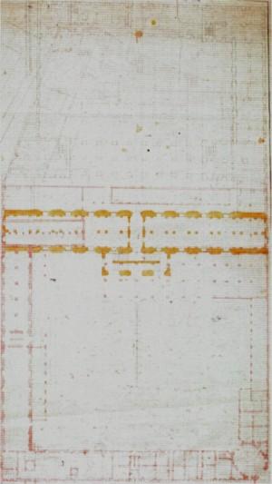 Filippo Juvarra, Primo progetto per l'Arsenale di Torino, 1728 (Biblioteca di Artiglieria e Genio di Roma, da Borasi, 1995).