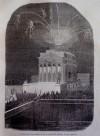 Illuminazione della chiesa della Gran Madre di Dio la sera del 27 febbraio 1848. Litografiada