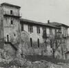 CASTELLO DI LUCENTO, GIÀ ISTITUTO BONAFUS, ORA TEKSID. Fotografia dei primi anni Ottanta del Novecento