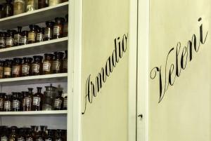 Farmacia Algostino De Michelis, particolare laboratorio, 2017 © Archivio Storico della Città di Torino