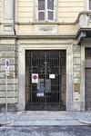 Portone nell'isolato dell'ex Ghetto ebraico, via Bogino 17. Fotografia di Mattia Boero, 2010. © MuseoTorino
