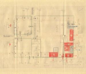 Bombardamenti aerei. Censimento edifici danneggiati o distrutti. ASCT Fondo danni di guerra inv. 292 cart. 5 fasc. 32. © Archivio Storico della Città di Torino