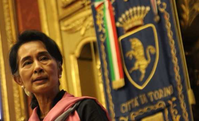 Aung San Suu Kyi (Rangoon, 1945)