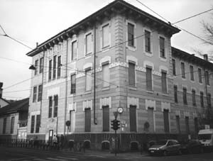 Scuola media Costantino Nigra - succursale, già Scuola elementare Manzoni, poi De Sanctis. Archivio della Scuola