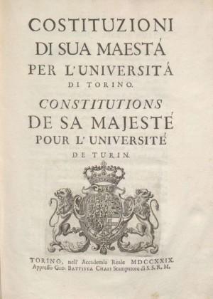 L'Università nel Settecento