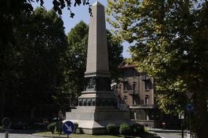 Luigi Belli, Monumento alla spedizione di Crimea, 1888. Fotografia di Dario Lanzardo, 2010. © MuseoTorino.