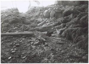 Fiat Mirafiori. Effetti prodotti dai bombardamenti del 4-5 dicembre 1940. UPA 0960D_9A02-27. © Archivio Storico della Città di Torino