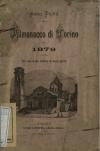 «Almanacco di Torino: compilato per cura di due studiosi di storia patria», A. I, 1879, Torino, copertina