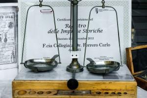 Farmacia Collegiata Ferrero, bilancino, 2017  ©Archivio Storico della Città di Torino