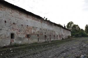 Particolare muro della cascina Cravetta. Fotografia di Ilenia Zappavigna, 2012.