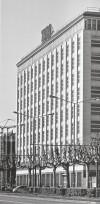 La sede della RIV SKF, oggi Toro Assicurazioni, su corso Cairoli. Immagine tratta da: G. Montanari, Amedeo Albertini. Fantasia e tecnica nell'architettura, Skira, Milano 2008
