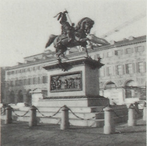 Monumento ad Emanuele Filiberto, conosciuto anche col nome di