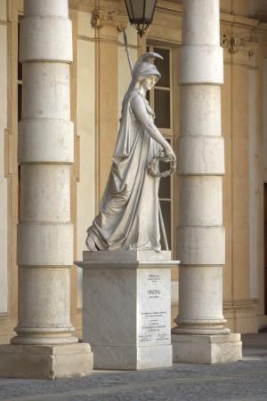 Monumento a Minerva. Fotografia di Giuseppe Caiafa, 2011.