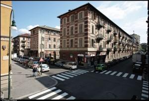 Veduta dei caseggiati del 9° quartiere STAP. Fotografia di Michele D'Ottavio, 2011. © MuseoTorino
