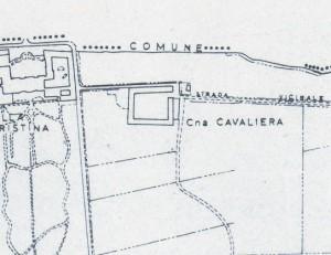 Cascina Cavaliera. Istituto Geografico Militare, Pianta di Torino, 1974. © Archivio Storico della Città di Torino