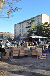 Il mercato di via Pavese (particolare). Fotografia di Mauro Raffini, 2010. © MuseoTorino.