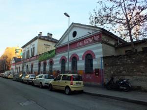 Centro sociale l'Asilo occupato, già scuola materna (ex asilo infantile) principe di Napoli. Fotografia di Paola Boccalatte, 2014. © MuseoTorino