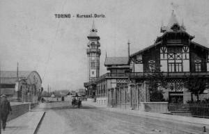 Cartolina (anni 20?) in Collezione Chiara Devoti: Sala concerti Kursaal Durio (1906), poi Cinema Fortino (da anni 50 a anni 80). In www.immmaginidelcambiamento.it