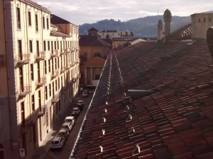 Veduta di via Santa Croce. Fotografia di Maria Paola Soffiantino, 2017