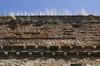 I resti delle mura romane presso la Porta Palatina. Fotografia di Paolo Gonella, 2010. © MuseoTorino.