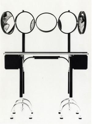 Gabetti e Isola - designer, Mobile toeletta serie Trilogia, 1970, produzione Arbo, fotografia di Riccardo Moncalvo (Archivio Gabetti&Isola, Studio Isola, Torino)