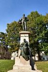 Casimiro Debiaggi, Giacomo Ginotti, Monumento a Carlo Nicolis di Robilant, 1900. Fotografia di Mattia Boero, 2010. © MuseoTorino.
