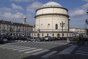 Chiesa della Gran Madre di Dio (veduta posteriore). Fotografia di Dario Lanzardo, 2010. © MuseoTorino.