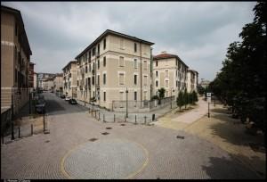 Veduta del 10° Quartiere IACP. Fotografia di Michele D'Ottavio, 2011. © MuseoTorino