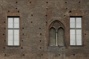 Castello di Porta Fibellona (Palazzo Madama, particolare, 1). Fotografia di Paolo Gonella, 2010. © MuseoTorino.