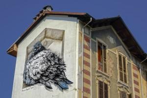 Mauro Fassino, murale senza titolo, 2010, casa Hänhel