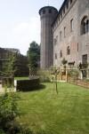 Giardino medievale di Palazzo Madama. Fotografia di Bruna Biamino, 2011. © Fondazione Torino Musei