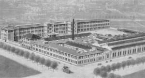 Le Fonderie Subalpine di corso Novara nel 1925.